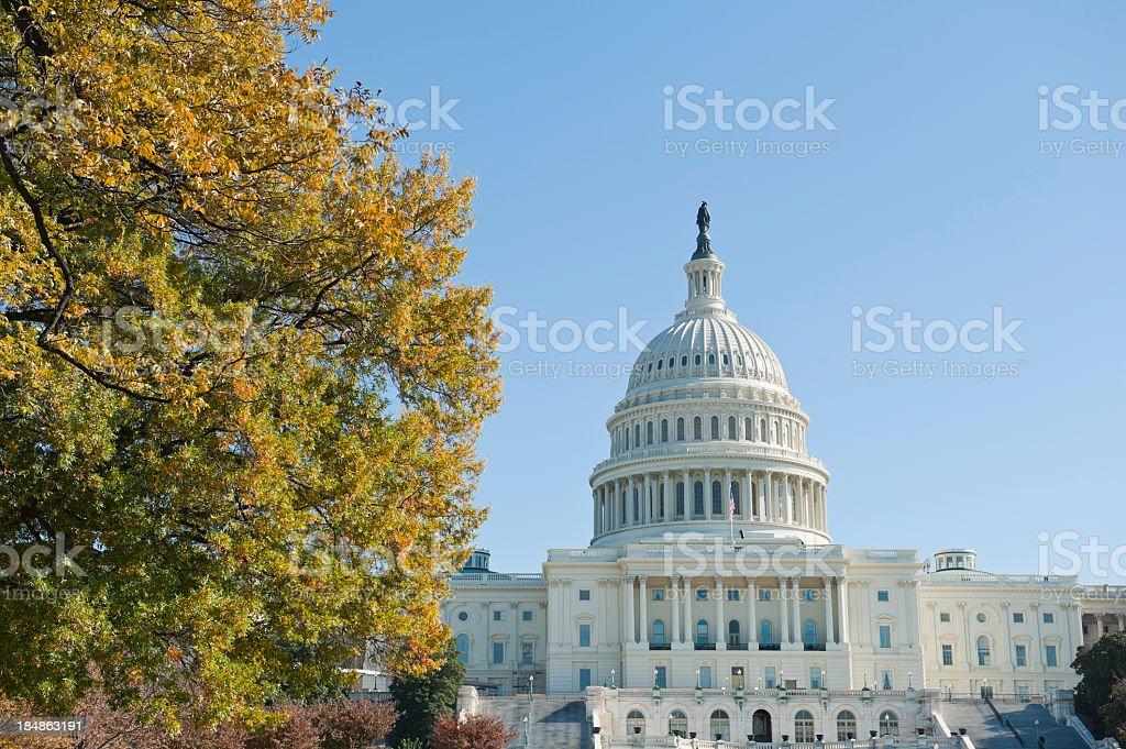 fall 2011 at Capitol hill Washington DC royalty-free stock photo