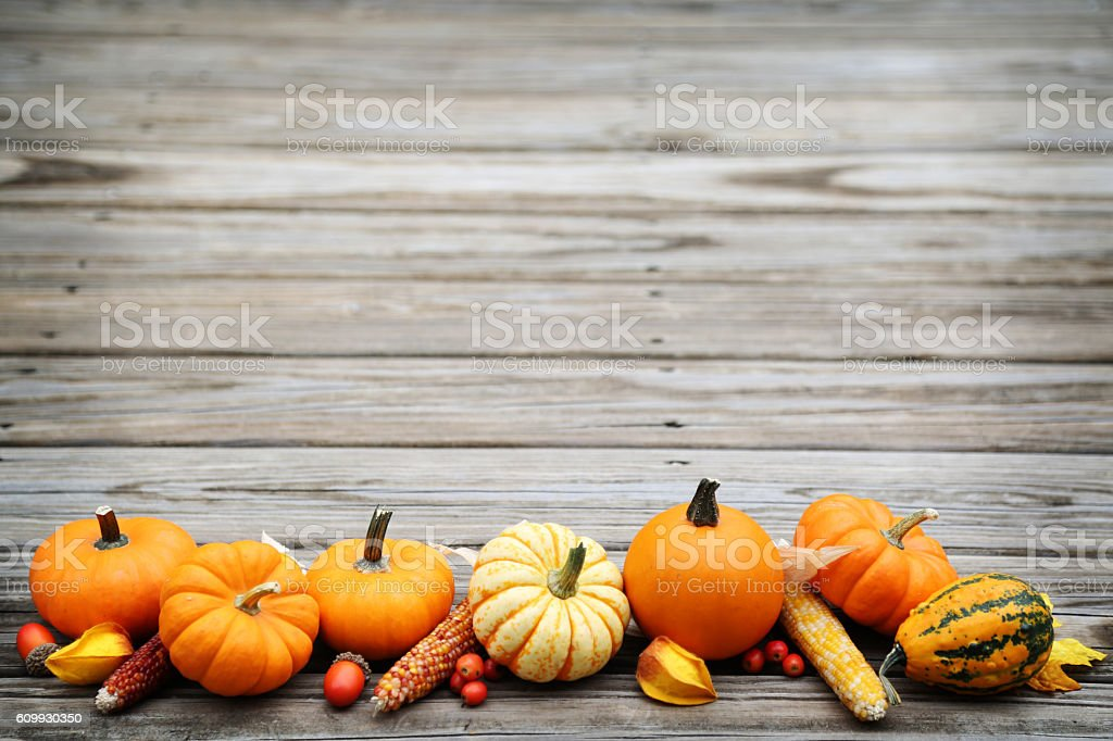 fall arrangement stock photo