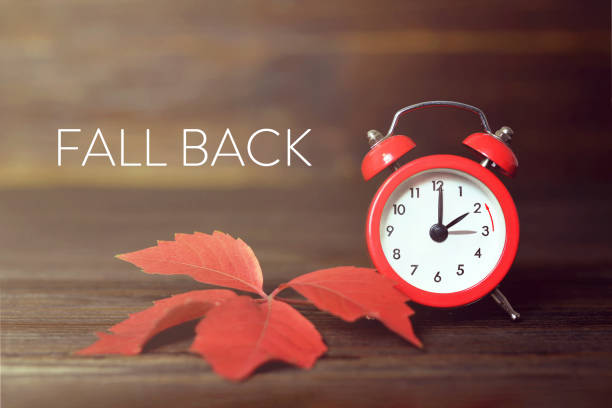 Fall back. Daylight saving time. Fall back. Daylight saving time. daylight savings stock pictures, royalty-free photos & images