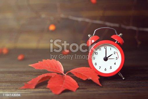 Fall back. Daylight saving time. Winter time change