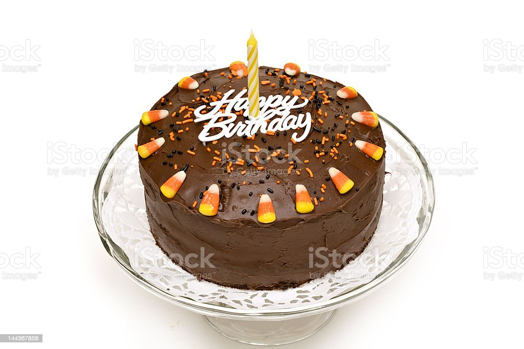 Pleasing Fall Birthday Cake Stock Photo Download Image Now Istock Funny Birthday Cards Online Elaedamsfinfo