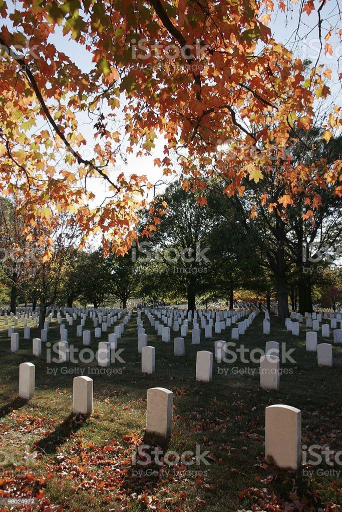 가을맞이 색상, 알링턴 국립 묘지 royalty-free 스톡 사진