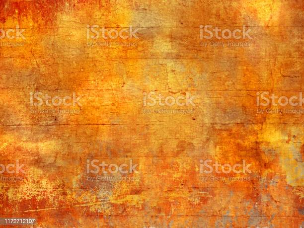 Photo of Fall colors background texture - abstract autumn pattern in grunge style