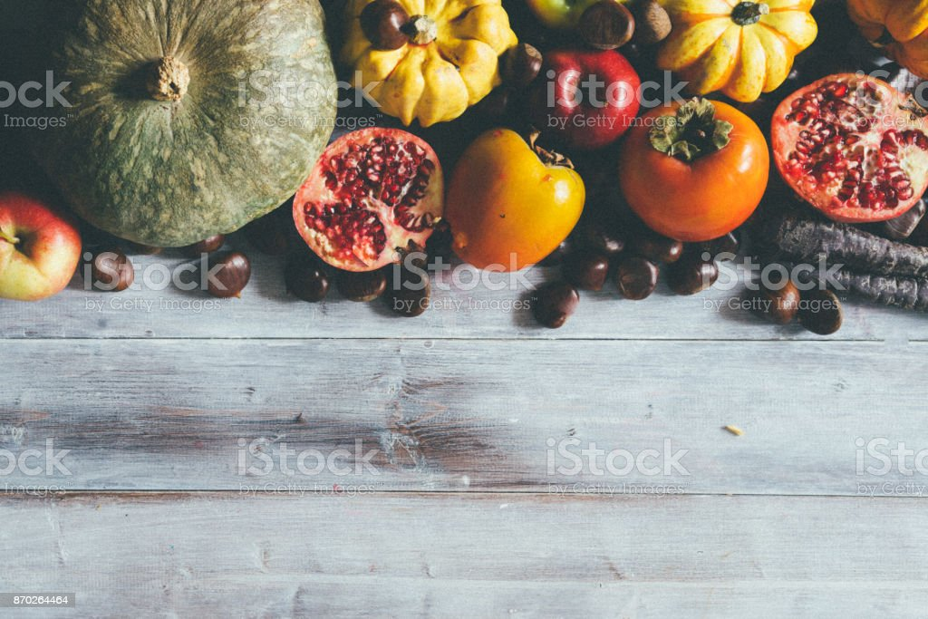 Fall composition stock photo