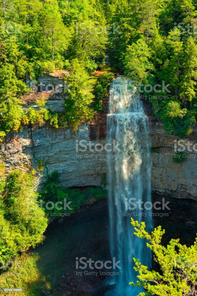 Fall Creek Falls full stock photo