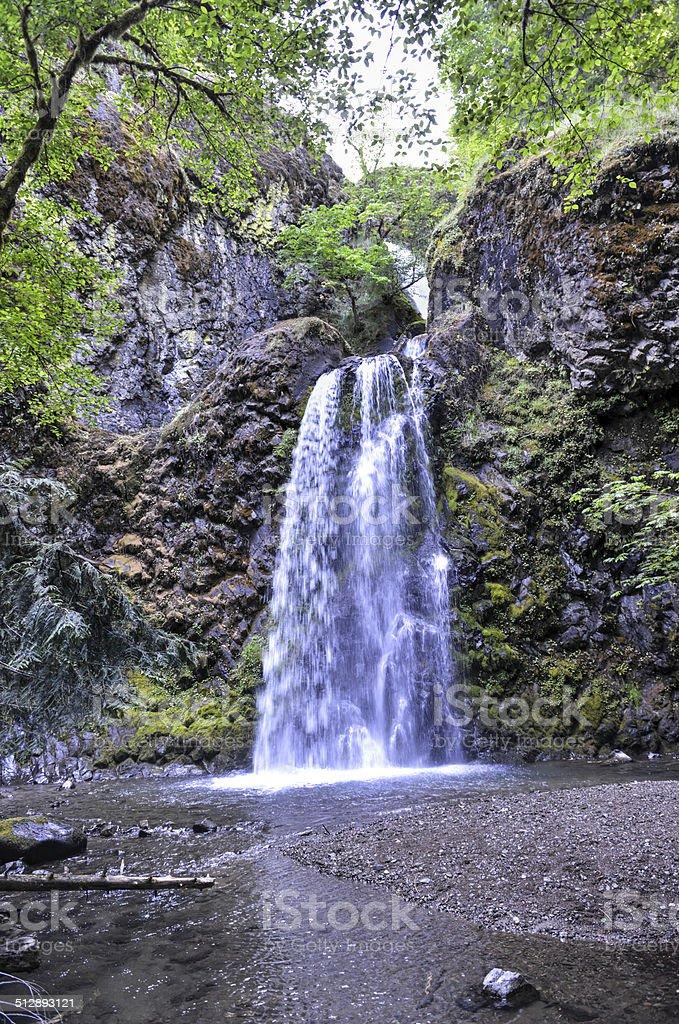 Fall Creek Falls, Oregon stock photo