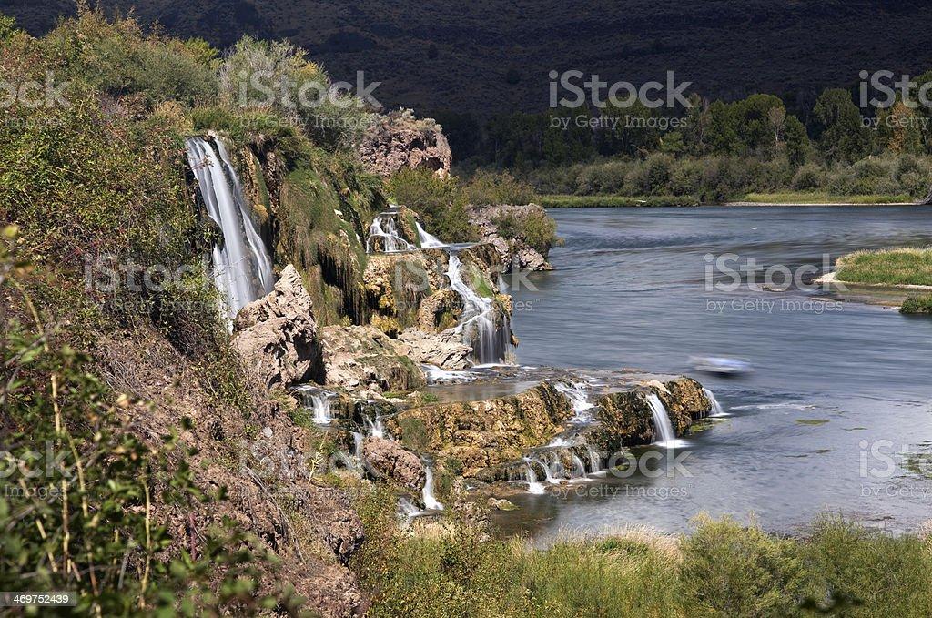 Fall Creek Falls stock photo
