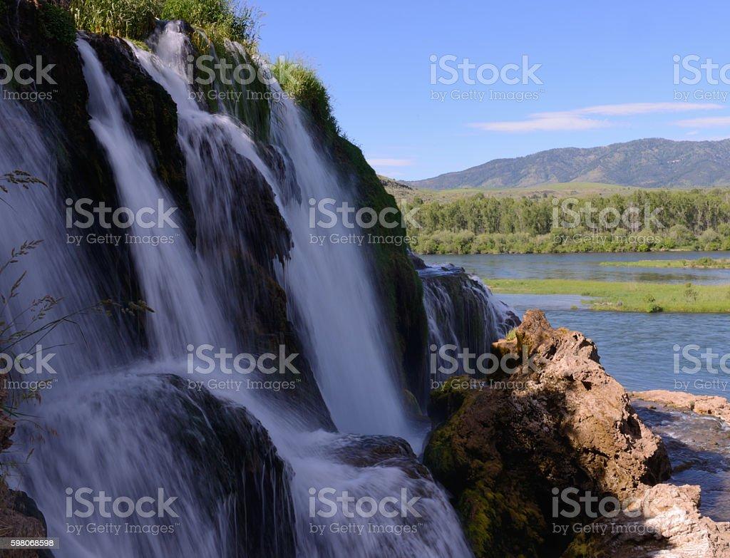 Fall Creek Water Fall number 4 stock photo