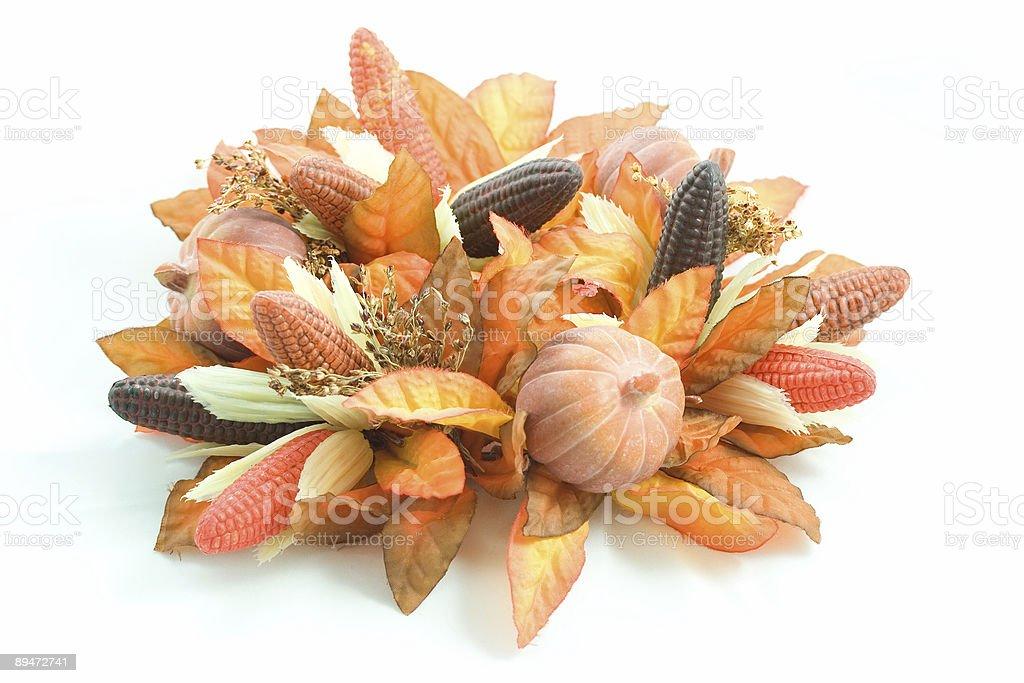 Fall Decoration royalty-free stock photo