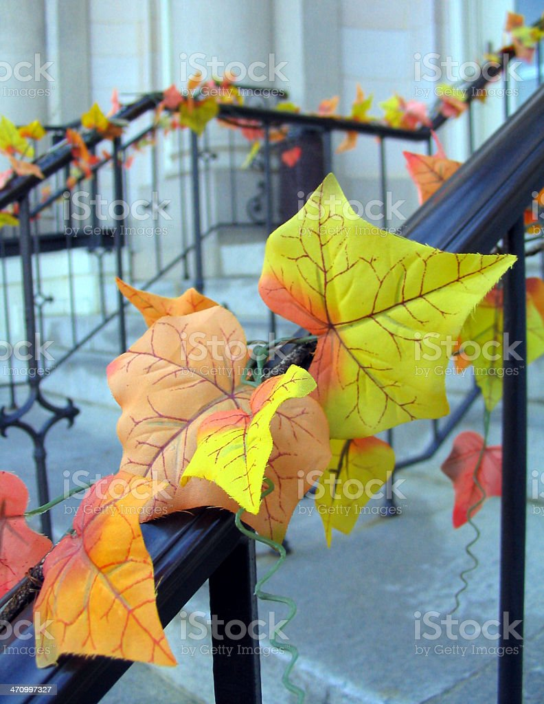 fall decorations II royalty-free stock photo