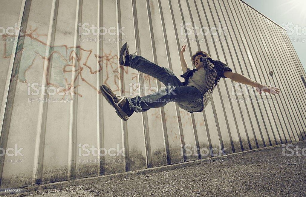 Fall down royalty-free stock photo
