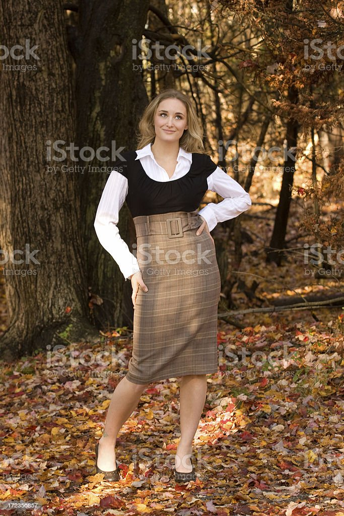 Fall Fashion royalty-free stock photo