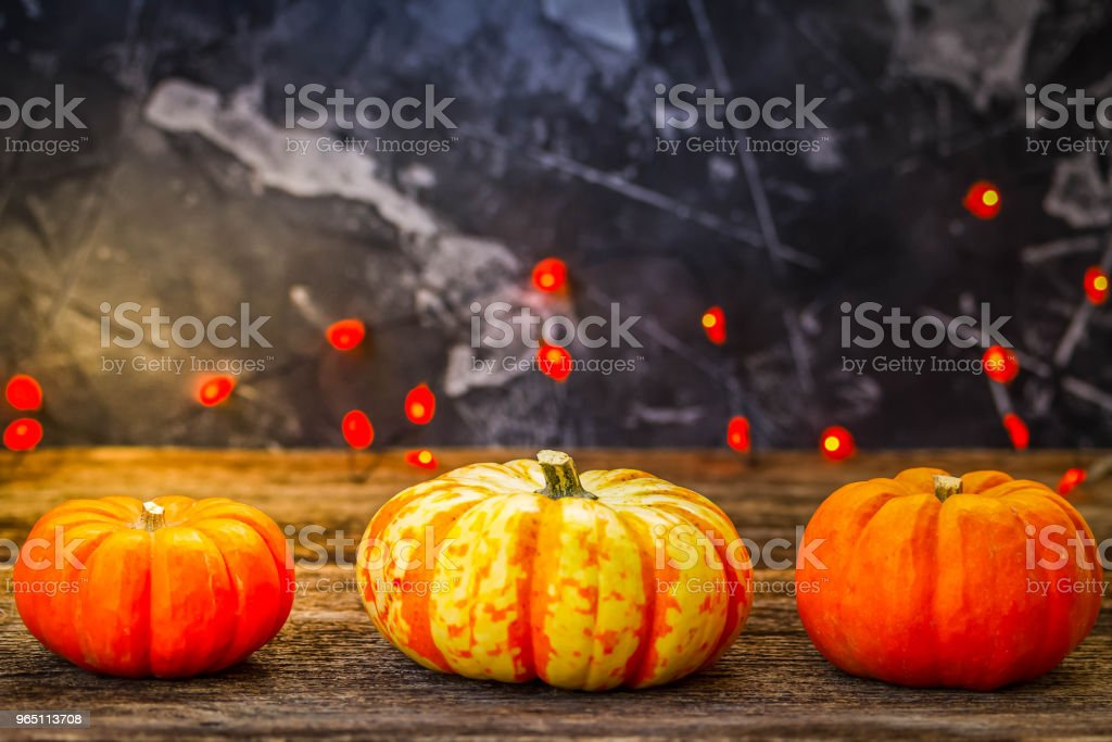 Fall harvest of pumpkins zbiór zdjęć royalty-free