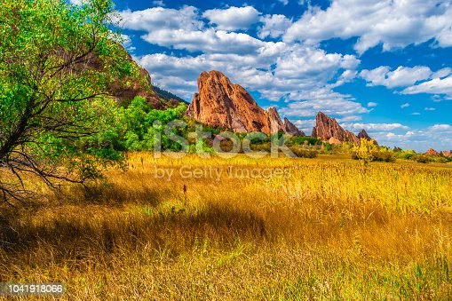 Fall Hike to Red Rocks in Colorado