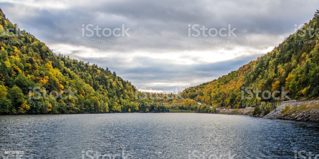 Fall in Adirondack Mountains Fall in Adirondack Mountains upstate New York Apostasy Stock Photo
