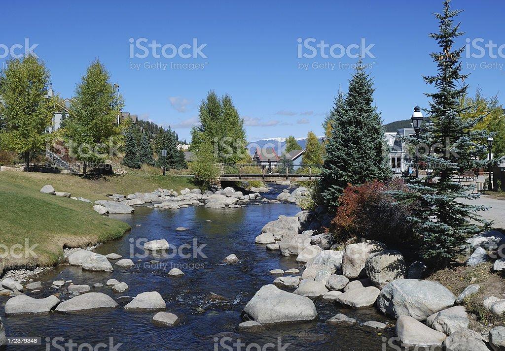 Fall in Breckenridge, Colorado stock photo