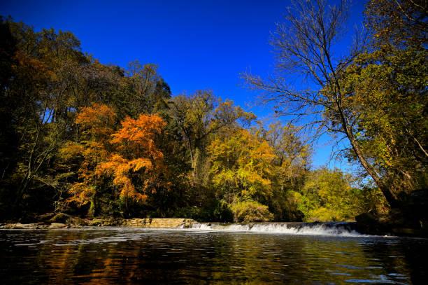 Fall in Fairmount Park, Philadelphia, PA stock photo