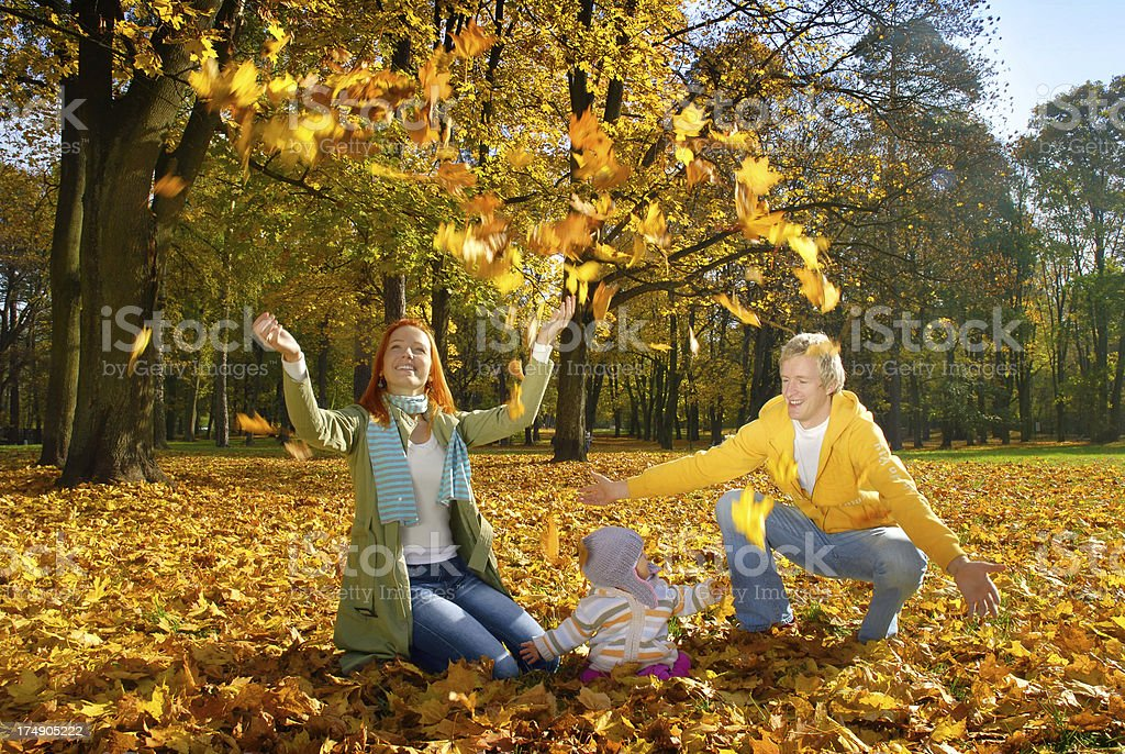 Fall is here royalty-free stock photo
