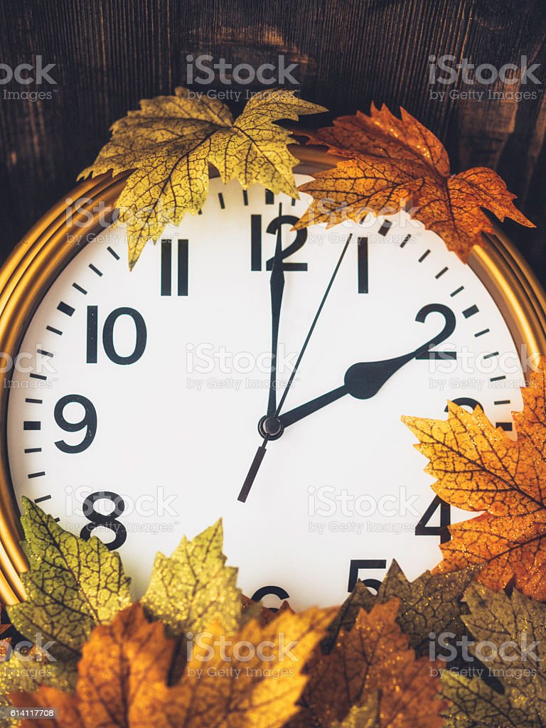 Fall is time to turn back clocks. Daylight Savings Time