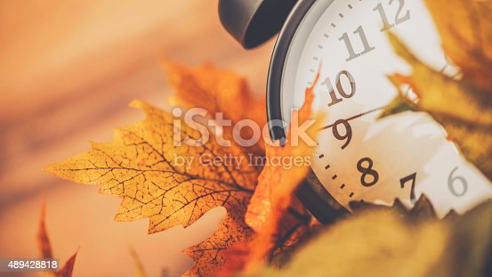 Fall is time to turn back time