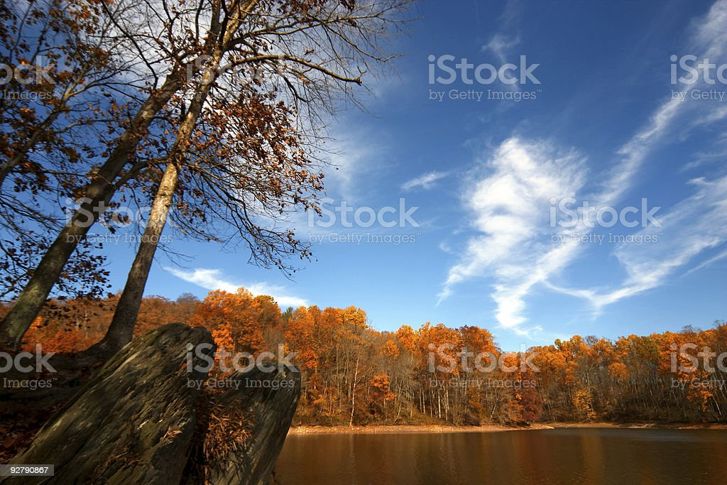 Fall landscape royalty-free stock photo