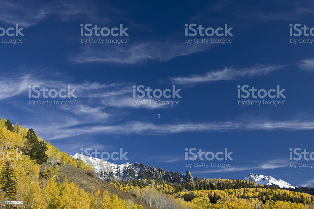 Fall mountains colorado royalty-free stock photo