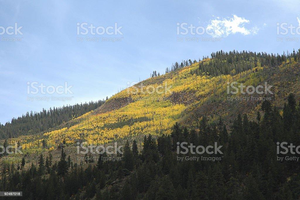 Fall Mountains of Utah royalty-free stock photo
