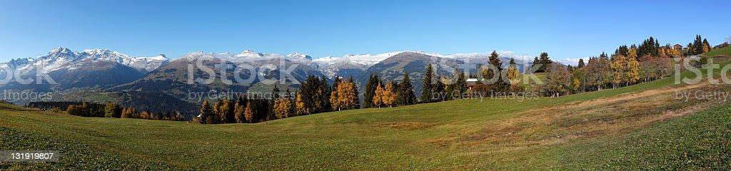 Fall Panorama (XXXL) stock photo