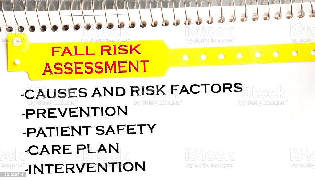 Fall Risk Assessment stock photo