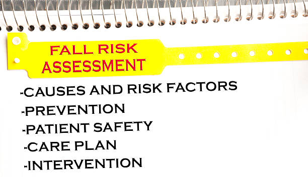 fall risk assessment - fall prevention stock photos and pictures