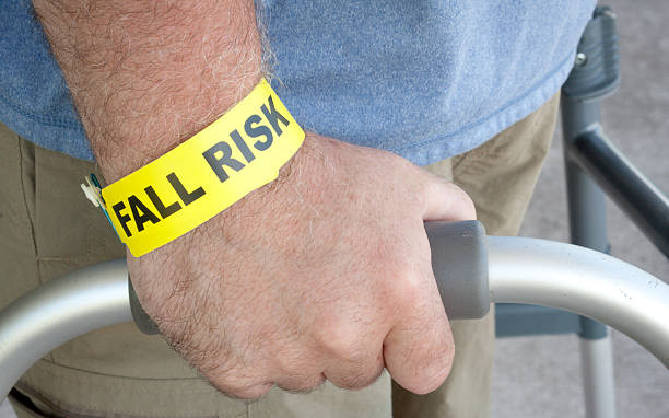 fall risk close up - inpatient stock pictures, royalty-free photos & images
