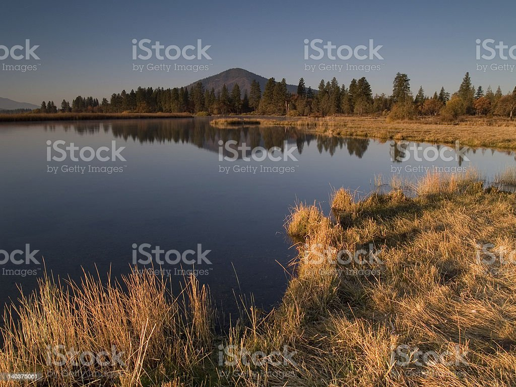 Fall River Valley 7 Stock Photo - Download Image Now
