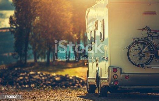 istock Fall RV Camper Camping 1170990224