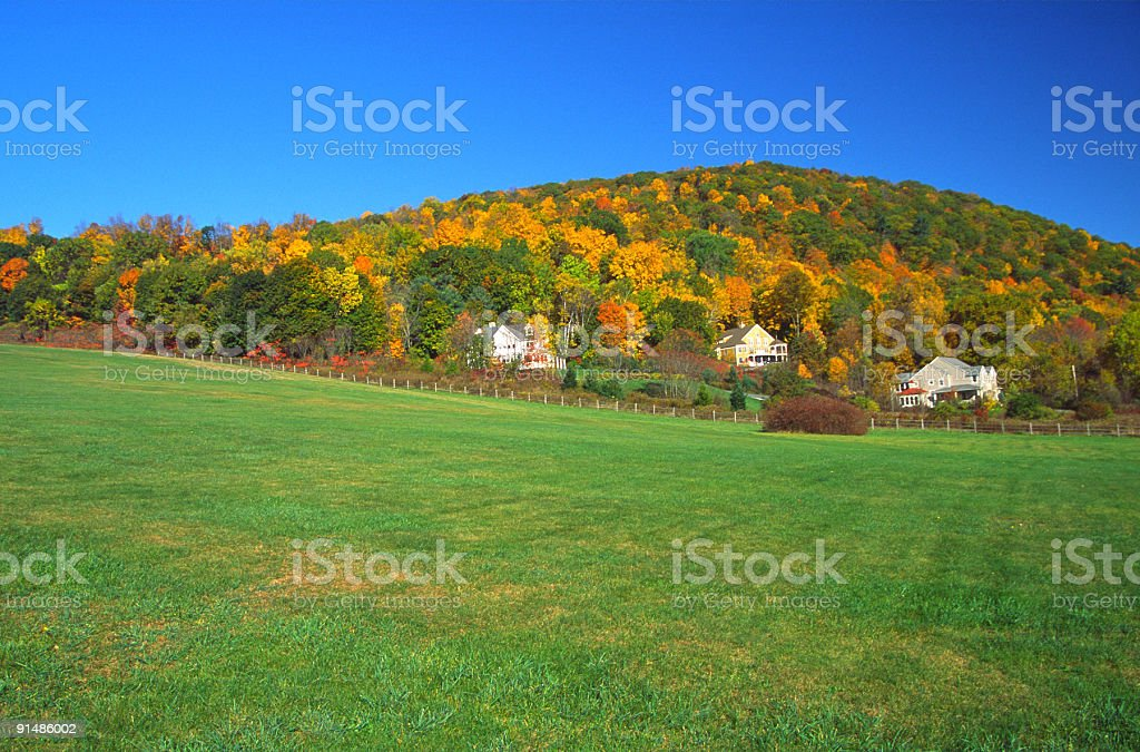 Fall Scenic stock photo