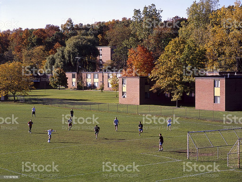 Fall Soccer II stock photo