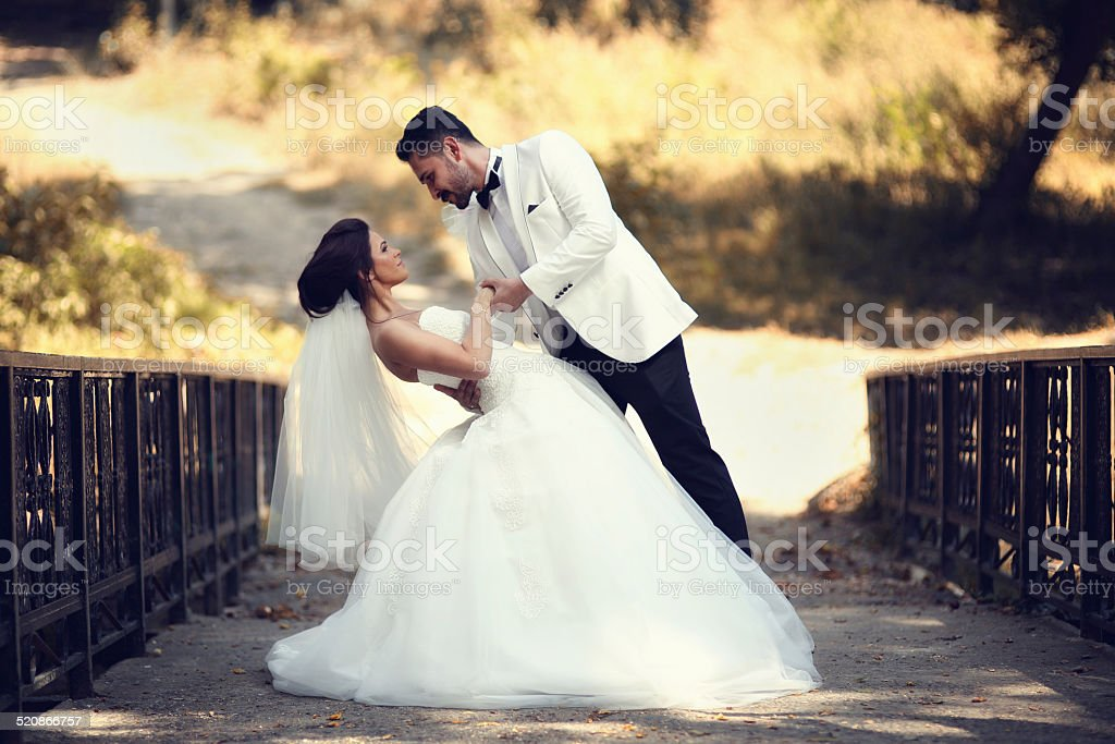 Fall Wedding stock photo