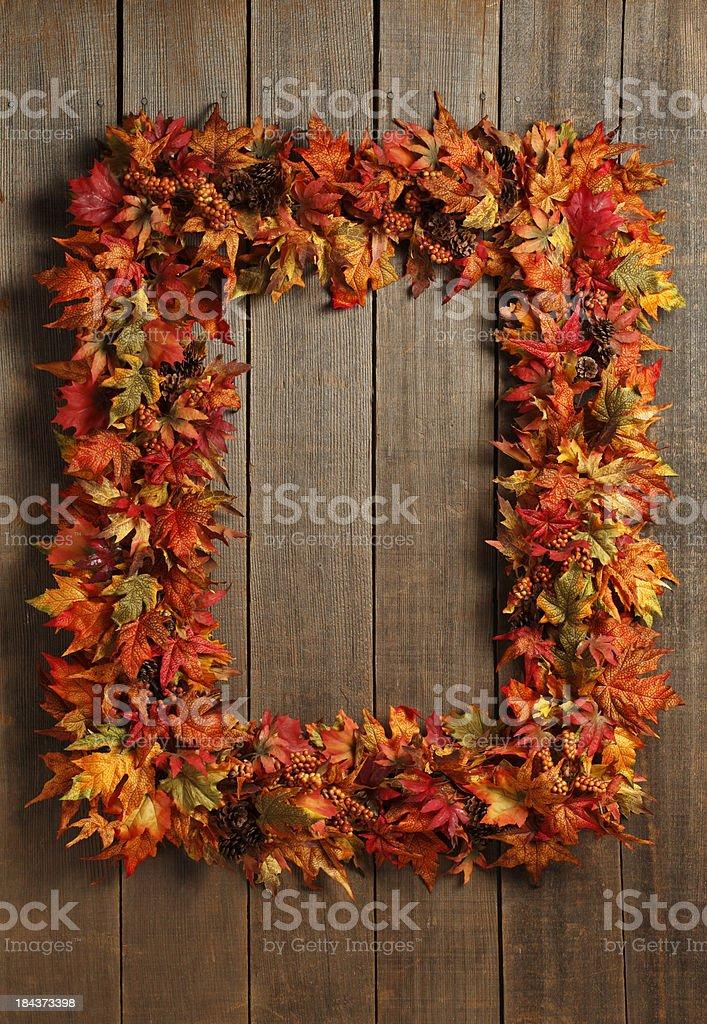 Fall Wreath royalty-free stock photo