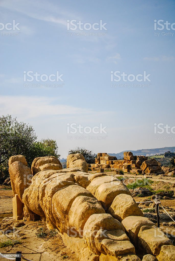Fallen Atlas royalty-free stock photo