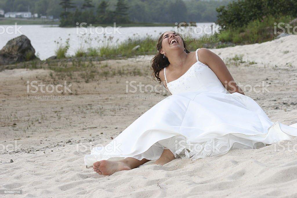 Fallen Bride royalty-free stock photo
