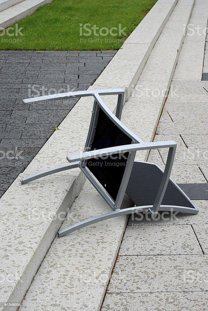 fallen Stuhl – Foto