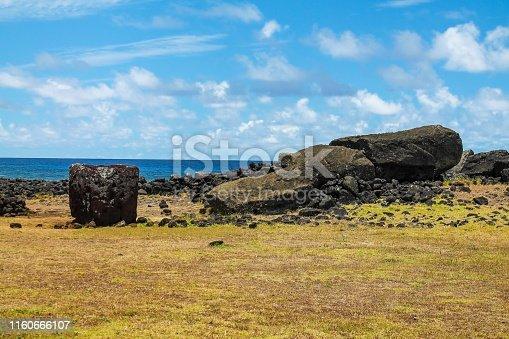 Ahu Te Pito Kura - Easter Island