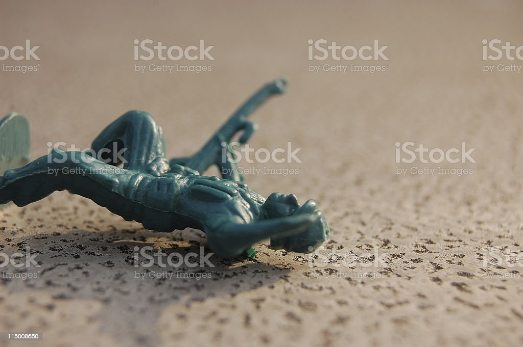 Fallen Soldier royalty-free stock photo