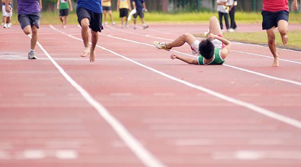 Gefallenen Sprinter – Foto