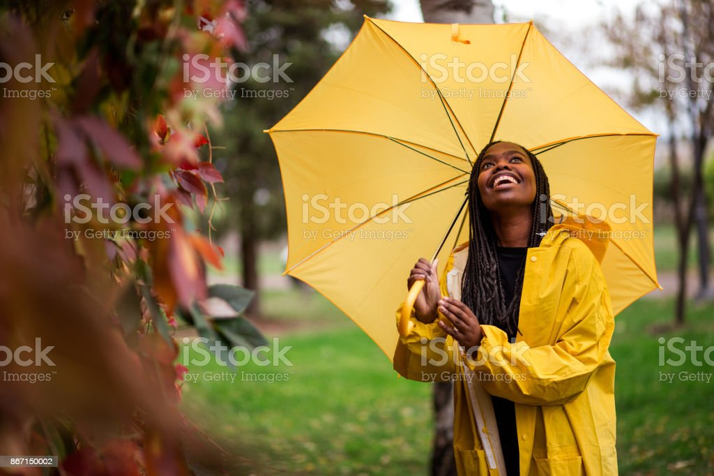 Falling In Love With Fall stock photo