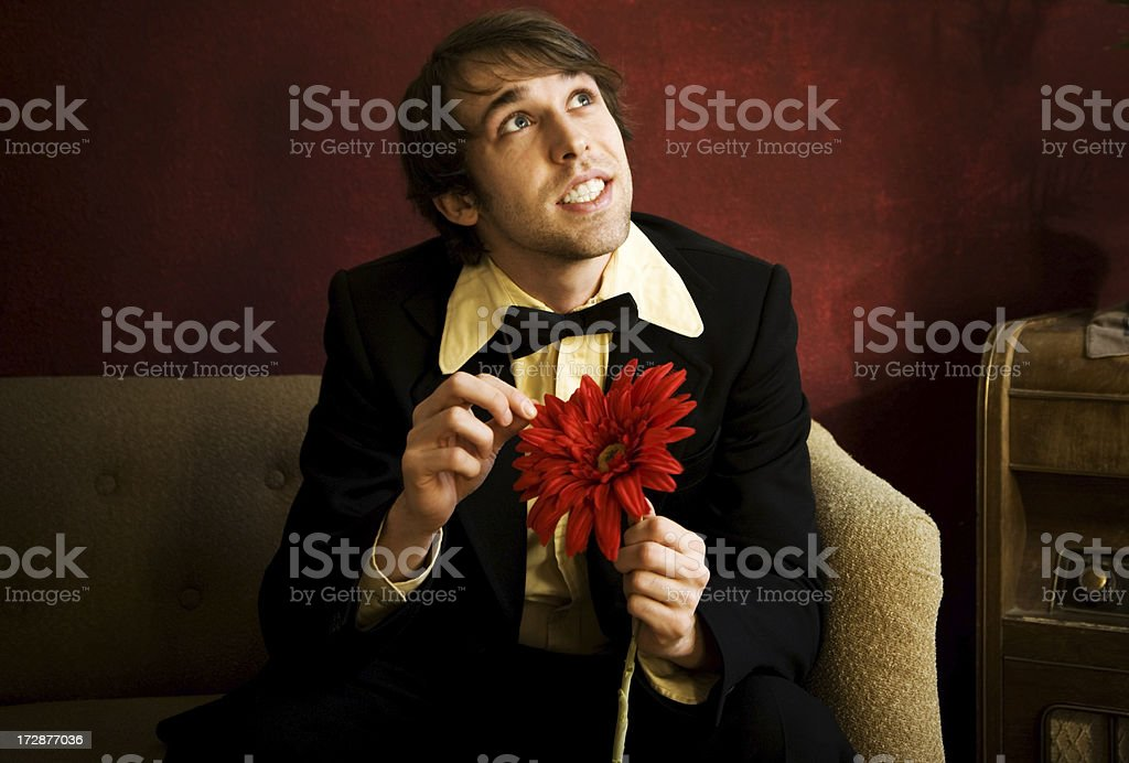 falling in love with me? royalty-free stock photo