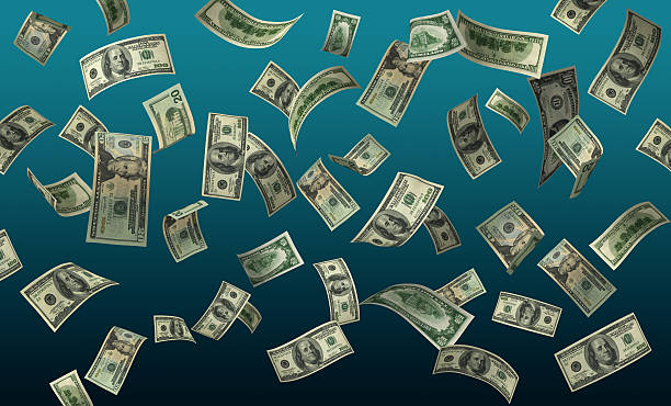 sinkende geld (hohe auflösung große format/xxl erhältlich - sterntaler stock-fotos und bilder