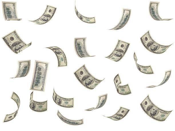 sinkende geld - sterntaler stock-fotos und bilder