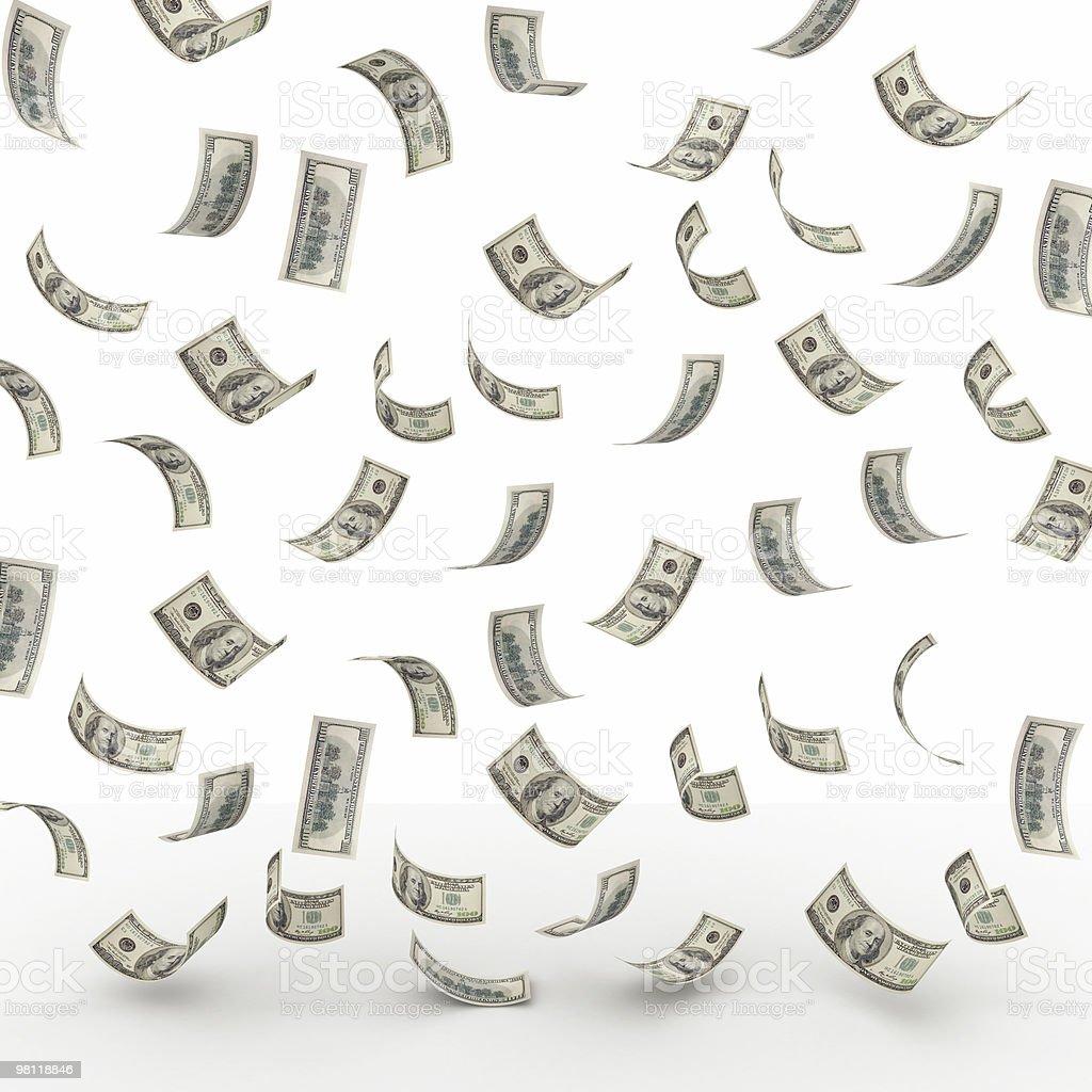 Cubi di denaro foto stock royalty-free