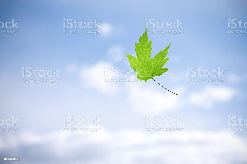 Falling royalty-free stock photo