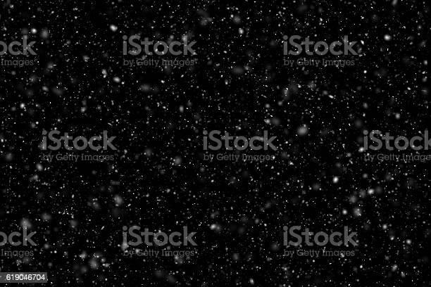 Photo of Falling snow overlay image